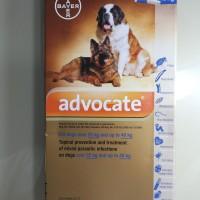 Advocate Bayer for Dog / Obat kutu demodex Anjing