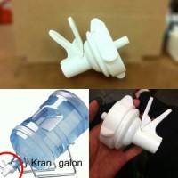 Kran Galon Aqua Air Minum Mineral Minuman Saja Tanpa Rak Refill Mouth