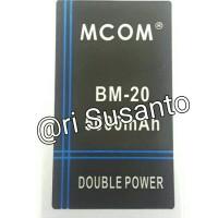 Baterai M-COM BM20 For Xiaomi MI2s Double Power 5000mAh