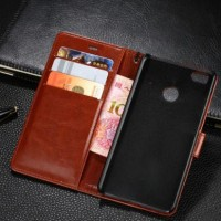 Xiaomi Mi4s - Mi 4s Premium Leather Case Wallet casing cover dompet