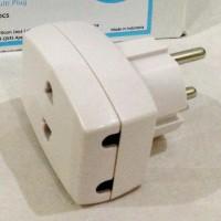 T Multi Uticon Kuningan / Steker Plug Jack Colokan Cabang 3