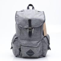 Tas Backpack Pria Abu-abu Grey Urban Factor