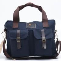 Tas Tangan Hand Bag Pria Biru Navy Urban Factor