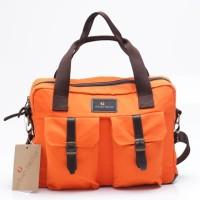 Tas Tangan Hand Bag Pria Orange Urban Factor