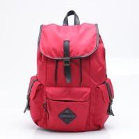 Tas Backpack Pria Merah Red Urban Factor