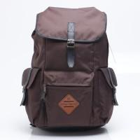 Tas Backpack Pria Cokelat Brown Urban Factor