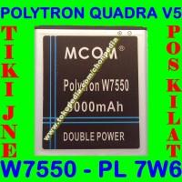 Baterai Polytron Quadra V5 W7550 PL7W6 PL 7W6 MCOM M COM Batrai Batre