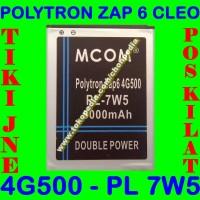 Jual Baterai Polytron ZAP 6 Cleo 4G 500 PL7W5 PL 7W5 MCOM Batrai Batre Murah