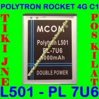 Jual Baterai Polytron Rocket 4G C1 L501 PL7U6 PL 7U6 MCOM Batrai Batre Murah