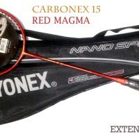 Raket CARBONEX 15 RED MAGMA Extended GOLD Edtion Raket yonex Murah
