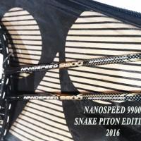 [Raket GANDA] NanoSpeed 9900 SNAKE PITON World Champion Edition yonex