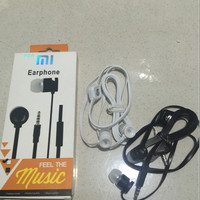 HEADSET / HANDSFREE XIAOMI STEREO KABEL GEPENG GOOD QUALITY SALE