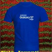 t-shirts/kaos/gadget Samsung GALAKSI S7 edge