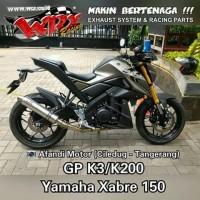 harga knalpot WRX GP series type K ( Xabre ) Tokopedia.com