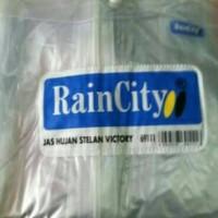 Jual RAIN CITY 69111 !!! JAS HUJAN TRANSPARAN MODEL SETELAN Murah