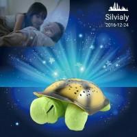 Jual lampu Tidur Proyektor Kura Kura Bulan Bintang Murah