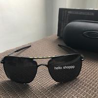 Kacamata Oakley Deviation VR46 Valentino Rossi Black Lens Polarized