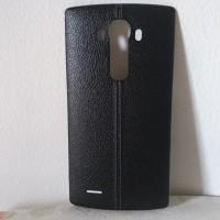LG Genuine Leather Back Cover for LG G4 (Black)