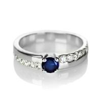 cincin kawin nikah tunangan single perak lapis emas putih(rhodium)