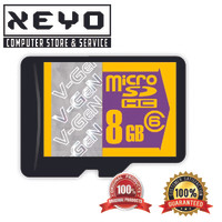 harga V-gen Vgen Micro Sd 8gb 8 Gb Class 6 Memory Card Original Bergaransi Tokopedia.com