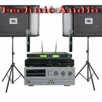 Paket Sound Systsem Karaoke Speaker JBL 10 Inchi 40 Ribu Lagu Original