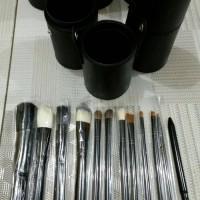 Kuas Tabung Model MAC (NO BRAND) 12pc /Brush makeup