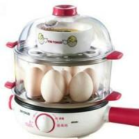 Jual TONZE EGG/BOILER/STEAMER - Perebus telur & makanan 2 Tingkat DZG-W414F Murah