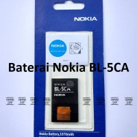 Baterai Nokia 1208 BL5CA Original OEM | Batre Battery, BL 5CA, BL-5CA