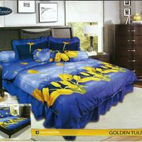 Sprei my love california golden tulip/sprei my love/sepre/bed cover