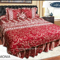 Sprei my love california harmonia/sprei my love/sepre/bed cover