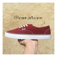 Vans Authentic Maroon ( Dark Red )