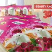 harga sprei anggora cat / kucing anggora 3D safari 180x200 Tokopedia.com