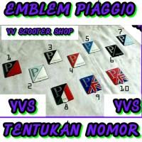 harga Aksedoris Vespa / Emblem Piaggio Tokopedia.com