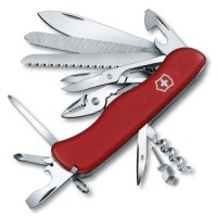 Pisau Lipat VICTORINOX Workchamp Swiss Army Knife ORIGINAL