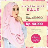 Jual kerudung/hijab/jilbab/tazkia lipit Murah