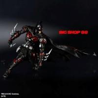 Play Arts Kai Batman DC Variant Red + Base