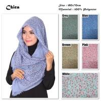 Jual Chica | Bunga | Ombre Viscose | Hijab/Jilbab/Pashmina/Kerudung/Scarf Murah