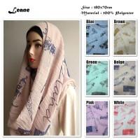 Jual Leane | Flag Bangunan | Ombre Viscose | Hijab/Jilbab/Pashmina/Kerudung Murah