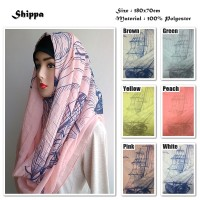 Jual Shippa | Kapal | Ombre Viscose | Hijab/Jilbab/Pashmina/Syal/Kerudung Murah