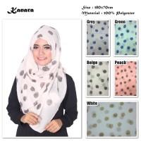 Jual Hijab/Jilbab/Pashmina/Kerudung Kanara | Ombre Viscose| Polkadot Murah