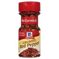 McCormick Crushed Red Pepper Flakes Bubuk Cabe Kering Kasar Import USA