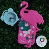 Rubber Case Flamingo iPhone 6/6s