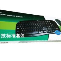 Keyboard + Mouse USB Logitech K200 Super Quality Laptop Computer