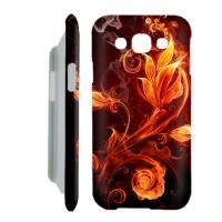 Fire Art Casing Samsung Galaxy E5 2015 Custom Case