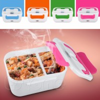 Jual kotak tempat makan Lunch Box Electric Penghangat bento bekal praktis Murah