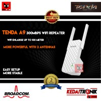 NEW Range Extender/ WIFI Repeater TENDA A9 2Antena NEW A301