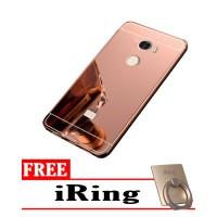 harga Casing Metal Bumper Mirror For Xiomi Redmi 4 + Free I Ring Tokopedia.com