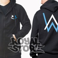 Jaket / Zipper / Hoodie / Sweater Marshmello Feat Alan Walker Dj Remix