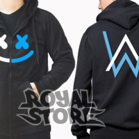 Jaket / Zipper / Hoodie / Sweater Alan Walker Feat Marshmello Dj Remix