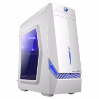 NEW ARRIVAL CASING PC / CASING KOMPUTER ARMAGGEDDON T3Z WARNA PUTIH